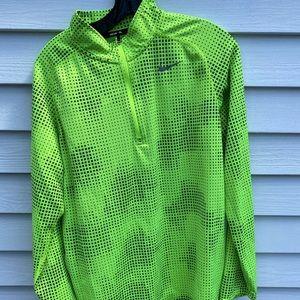 Nike Green Running Quarter ZIP